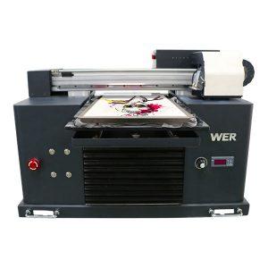 Осам боја јефтина цена 3д дигитални дтг т-схирт штампач за одећу, текстилни флатбед штампачи за продају