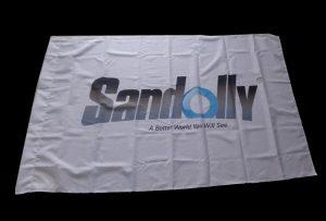 Флаг Тканина баннер штампан еко отапалом од 1.6м (5 стопа) ВЕР-ЕС160