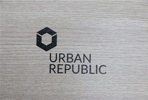 Штампање логотипа на дрвеним материјалима ВЕР-Д4880УВ