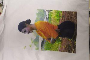 Т-схирт штампа узорак за клијента Бурме са ВЕР-ЕП6090Т штампача